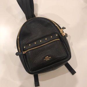 Coach Leather Mini Charlie Backpack